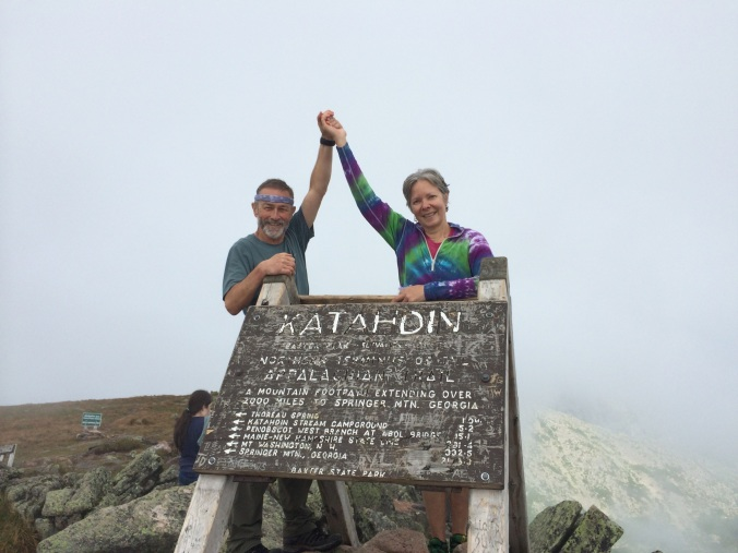 One of the best parts of my final day on the trail was to share it with my friend Karen (Tie) Edwards.