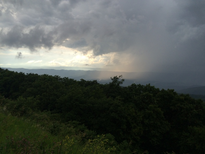 The Shenandoah skies have looked like this all summer.